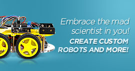 Using arduino compatible components to easily build your own robot or R/C car. No matter you are a perfect enthusiasts or just the hobbyists, these Arduino robot car is good for you. Take action now, this Arduino Kit can help you create custom robots and