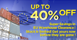 DX launched EU warehouse clearance campaign. You can save a lot with 40% off. All gadgets from bicycle flashlight mount to iphone controlled helicopter are well selected by their staff. With express delivery and worldwide free shipping. What are you waiti