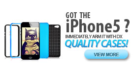 Got the iphone5? Immediately arm it with dx quality iphone 5 accessories! Cover it with cool unique iphone 5 case. Here, we also have top fashion iphone 5 frame with low price for any occasion.