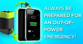 Mobile battery help you tackle out-of-power emergency. Need portable power to feed your device anywhere? Buy batteries online now and take 'charge' of the situation anytime whenever you out of power. Let solar powered battery give you power all the time.