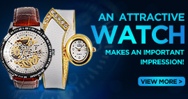 Let wrist watch make an investment in you or your loved one! Buy cool mens watch for the masculine him. Buy attractive ladies watch for the gorgeous her. Buy cool wrist watch for friendship also for love.